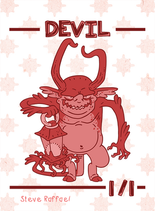 Devil Token for MTG (SRA)