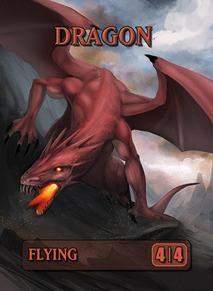 Dragon Token for MTG (ISH)
