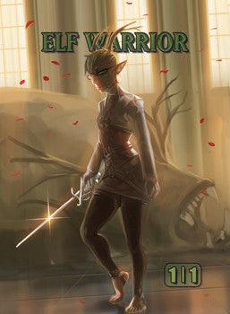 Elf Warrior Token for MTG (ISH)