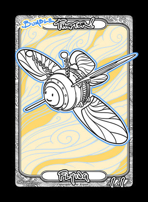 Thopter (Bumble Thopter) Token for MTG (Steve Argyle)