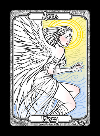 Angel 2 Token for MTG (Steve Argyle)