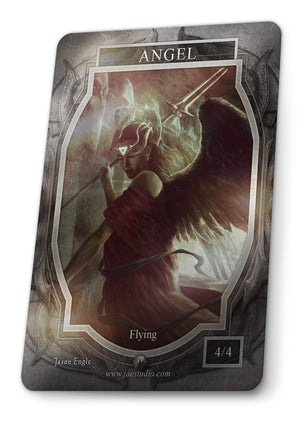 Angel Foil Token for MTG (Jason Engle)