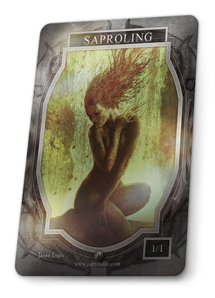 Saproling Foil Token for MTG (Jason Engle)