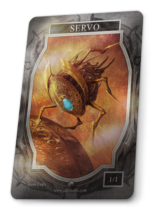 Servo Foil Token for MTG (Jason Engle)