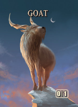 Goat Token for MTG (ISH)