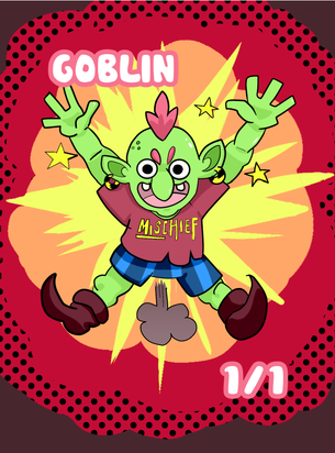 Goblin Token for MTG (Jack Hugh Baker)