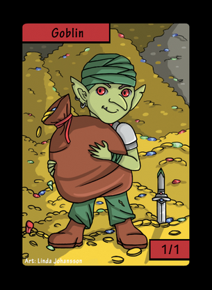 Goblin Token for MTG (LNJ)