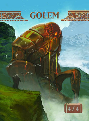 Golem Token for MTG (ISH)