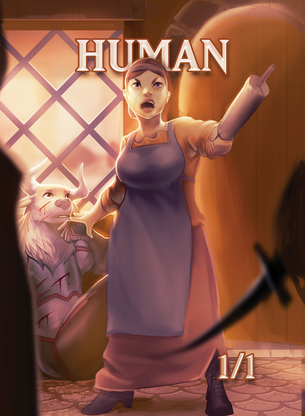 Human Token for MTG (ISH)