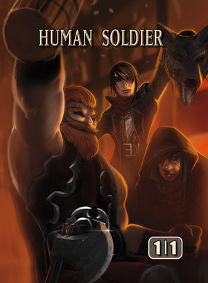Human Soldier Token for MTG (ISH)