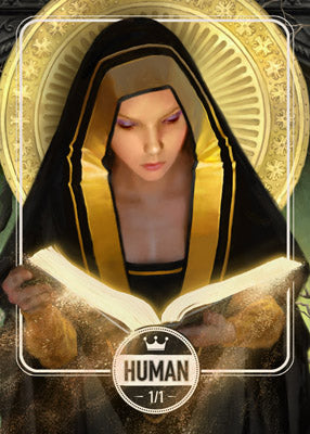 Human token for MTG (Clint Cearley)