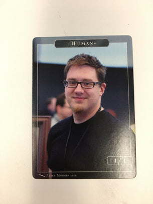 Human (Peter) Token for MTG (PMO)