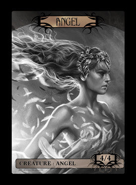 Angel Token for MTG (Magali Villeneuve) Token Magali Villeneuve - Cardamajigs