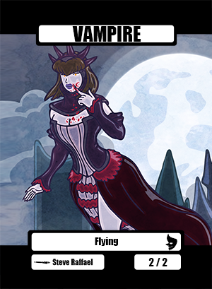 Vampire Token for MTG (SRA)