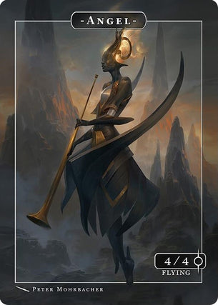 Angel Israfel Token for MTG (Peter Mohrbacher)