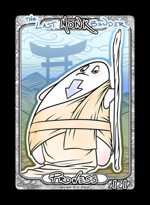 Monk (Bender) Token for MTG (Steve Argyle)