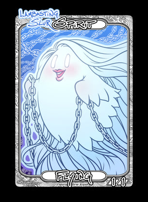 Spirit (Lambasting Slur) Token for MTG (Steve Argyle)
