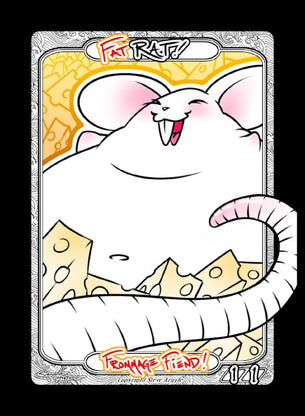 4x Rat (Fat) Tokens for MTG (Steve Argyle)