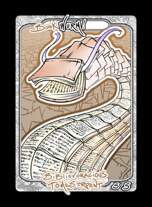 Wurm (Book) Token for MTG (Steve Argyle)