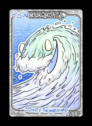 Elemental (Tsun) Token for MTG (Steve Argyle)