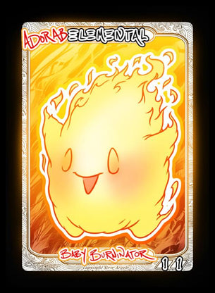 Elemental (Adorb) Token for MTG (Steve Argyle)