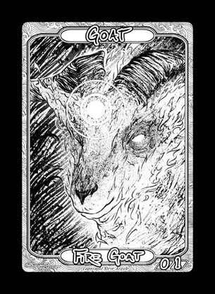 Goat Token for MTG (Steve Argyle)