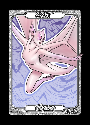 Bat Token for MTG (Steve Argyle)