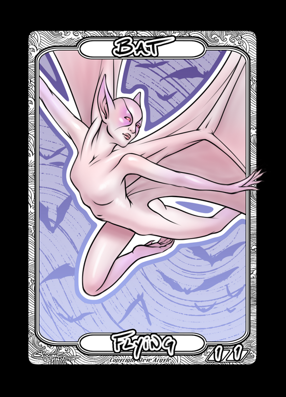 Bat Token for MTG (Steve Argyle) Token Steve Argyle 2 - Cardamajigs