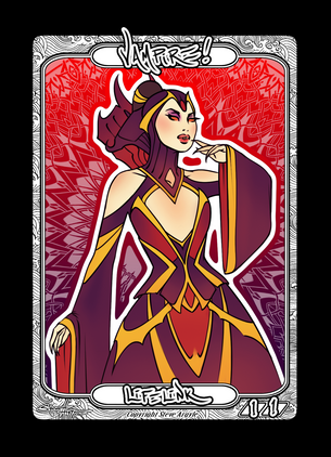 Vampire Token for MTG (Steve Argyle)