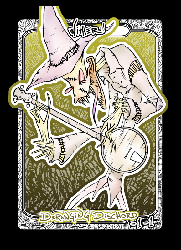 Wither Token for MTG (Steve Argyle) Token Steve Argyle 2 - Cardamajigs
