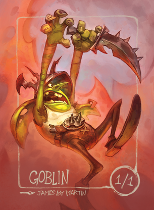 Goblin for MTG (James Loy Martin)