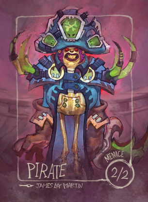 Pirate for MTG (James Loy Martin)