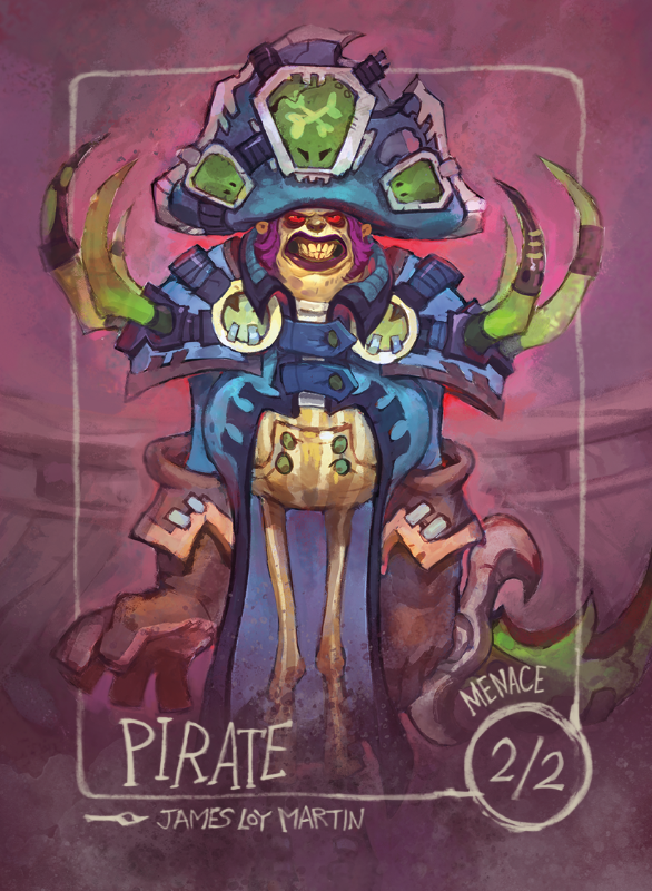 Pirate for MTG (James Loy Martin) Token James Loy Martin - Cardamajigs