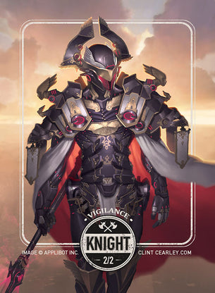 Knight token for MTG (Clint Cearley)