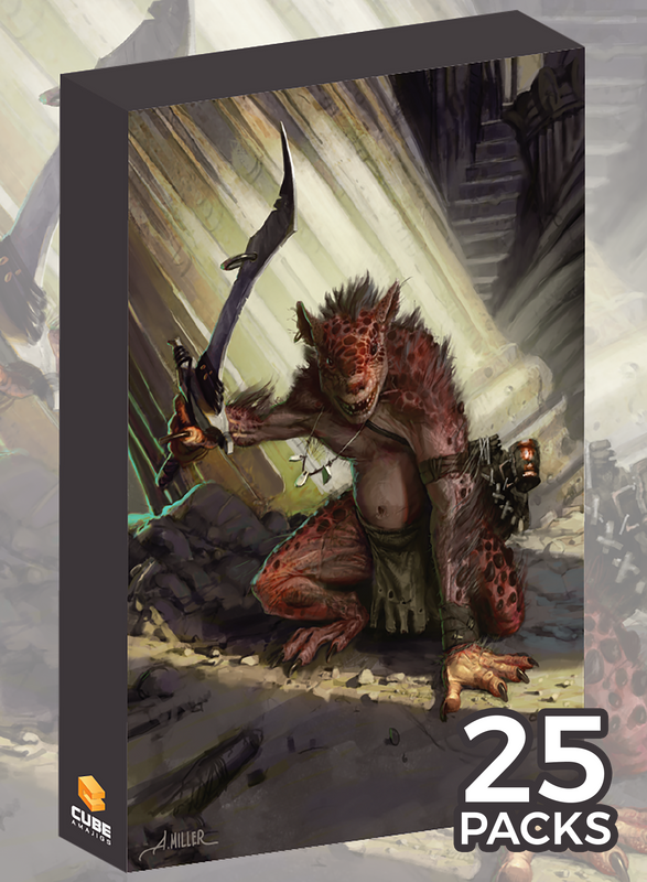 Kobold Cubeamajigs by Aaron Miller (Set of 25)