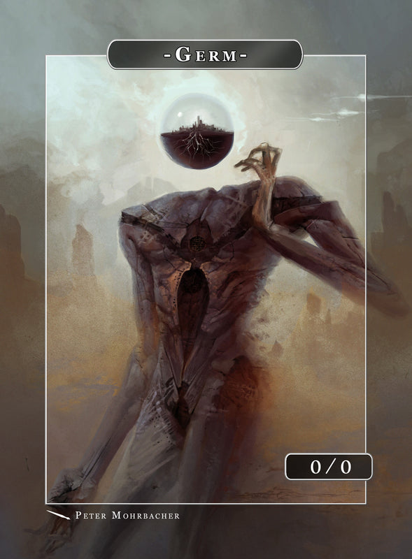 Germ Malkuth Token for MTG (Peter Mohrbacher) Token Angelarium 2 - Cardamajigs