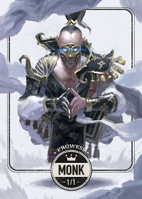 Monk token for MTG (Clint Cearley)