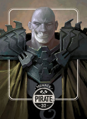 Pirate token for MTG (Clint Cearley)