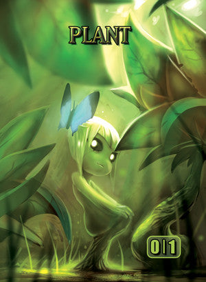 Plant 1 Token for MTG (ISH) Token A.Lundell - Cardamajigs
