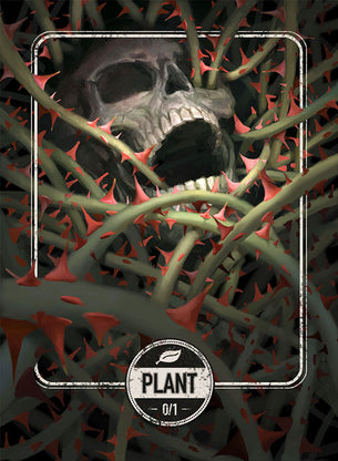 Plant token for MTG (Clint Cearley)