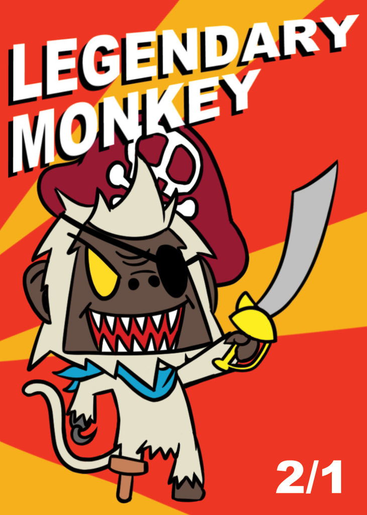 Monkey Legendary Token for MTG (ELO)