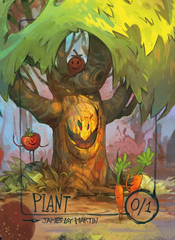 Plant for MTG (James Loy Martin) Token James Loy Martin - Cardamajigs