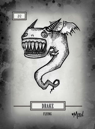 Drake Token for MTG (Shannon Allen)