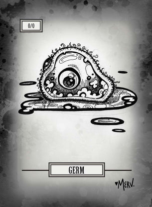 Germ Token for MTG (Shannon Allen)