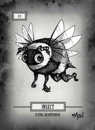 Insect Token for MTG (Shannon Allen)