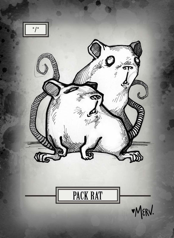 Pack Rat Token for MTG (Shannon Allen)