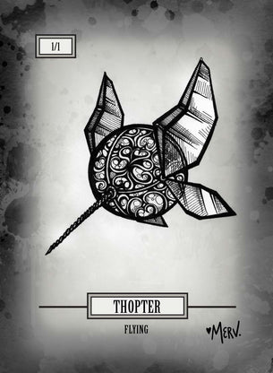 Thopter Token for MTG (Shannon Allen)