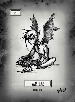 Vampire Token for MTG (Shannon Allen)