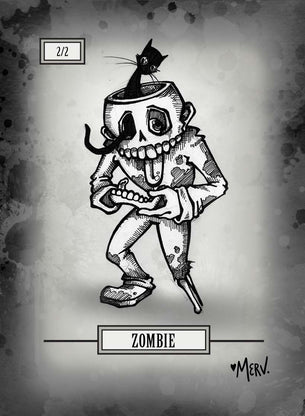 Zombie Token for MTG (Shannon Allen)