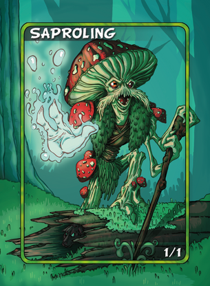 Saproling Token for MTG (Anthony Briglia)